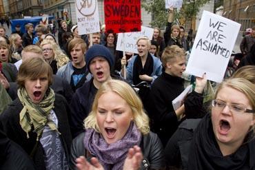 SD protest